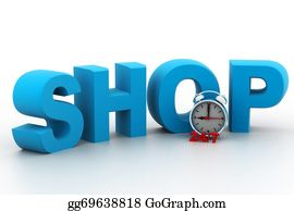 Time-For-Shopping - Shopping Time Concept