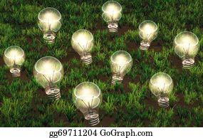 Plantation - Cultivation Of Lit Light Bulbs