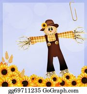 Scarecrow - Scarecrow And Sunflowers