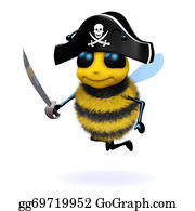Bee-Hive - 3d Bee Pirate