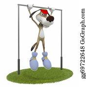 Acrobatic - 3d Dog Gymnast.