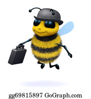 Bee-Hive - 3d Business Bee