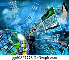 Six-Spheres-Balls-Illustration-With - High Technology Sector