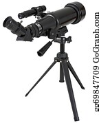 Astronomy - Astronomy Telescope With Tripod
