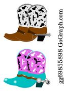 Cowboy-Boots - Cowboy Boots With Spurs