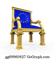 Government-And-Economy - Throne Chair Of European Union