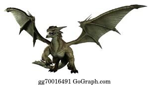 Legend - Large Green Dragon