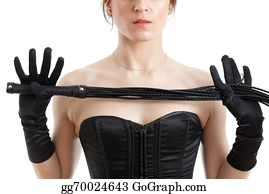 Whip - Woman In A Corset And  Whip