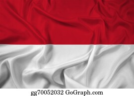 Indonesia - Waving Indonesia Flag
