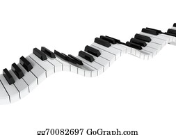 Music-Notes-On-Piano-Keyboard - Piano Keyboard Wave