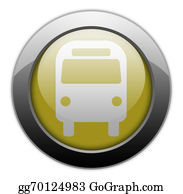 "Bus-Drivers - Icon/button/pictogram ""bus / Ground Transportation"""
