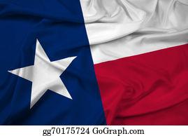 Texas-State-Flag - Waving Texas State Flag