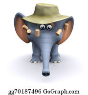 Australian - 3d Australian Elephant