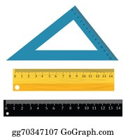 Millimeter - Set Of Rulers