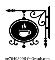Coffee-House - Ancient Street Signboard Coffee House