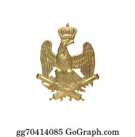Military-Eagle-Emblem - Old French Insignia
