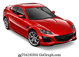 Street-Race - Red Coupe Car