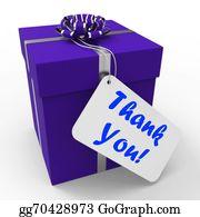 Appreciation - Thank You Gift Means Grateful And Appreciative