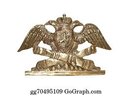Military-Eagle-Emblem - Old Russian Insignia