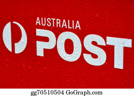 Government-And-Economy - Australian Post Office Box Sign And Symbol