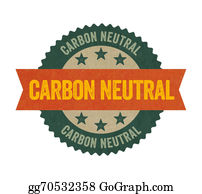 Eco-Friendly-Label - Label With The Text Carbon Neutral