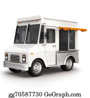 Food-Truck - Food Truck White