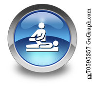 Therapy - Icon, Button, Pictogram Physical Therapy