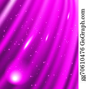 Falling-Snow-Background - Stars Are Falling On The Background Of Purple Rays.