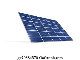 Solar-Panel - Solar Panel Isolated
