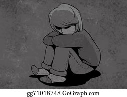 Sad-Child - Abused Child, Unhappy Children