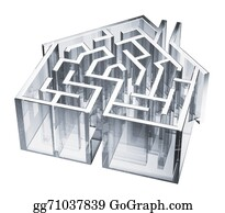 Obstacle-Course - House Maze