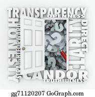 Honesty - Transparency Door Openness Clarity Candor Straightforward