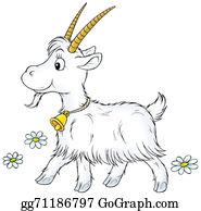 Goat-Cartoon - Goat