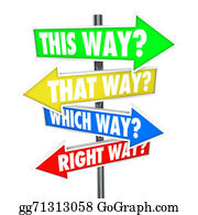 Frustrated - This Way That Which Is Right Path Choice Arrow Signs Opportunity