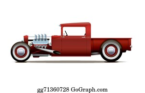 Muscle-Car - Hot-Rod Truck