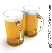 Beer - Two Beer Mugs