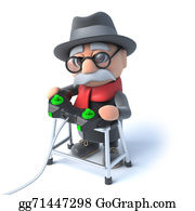 Geriatrics - 3d Grandpa Plays Videogames Online