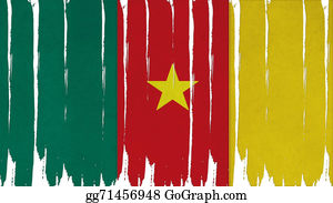 Crepes - Cameroon Flag Tinted Vertical