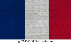 Crepes - France Flag Japanese Mats Texture