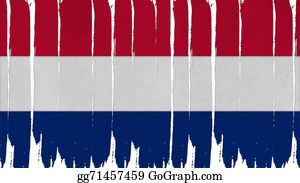 Crepes - Netherlands Flag Tinted Vertical Texture