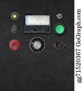 Electric-Meter - Vintage Ampere Meter Dashboard