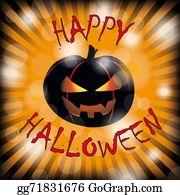 Scary-Pumpkin - Happy Halloween Pumpkin Rays