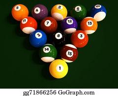 Cue-Ball - Pool/billiard Balls