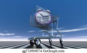 Time-For-Shopping - Time In Shopping Cart