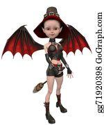 Lunatic - Beautiful Toon Witch Girl