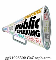 Public-Speaking - Public Speaking Bullhorn Megaphone Communication Ideas Advice