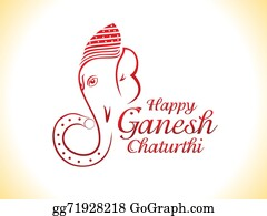 Ganesha - Abstract Ganesha Chaturthi Background