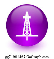 Drilling-Rig - Drilling Internet Icon