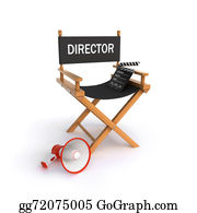 Movie-Production - Directors Chair