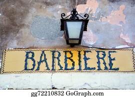 Beards - Italian Barber Shop Vintage Retro